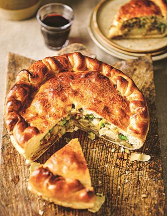 Gennaro's Italian Bakery: Grissini: Torta Salata con Fave