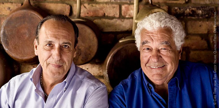 Gennaro Contaldo & Antonio Carluccio