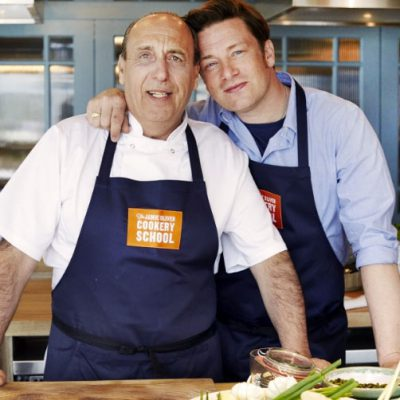 Gennaro Contaldo &Jamie Oliver