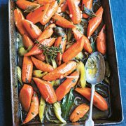 Slow Cook Italian: Slow-roasted carrots