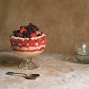 Gennaro Fast Cook Italian: Adriana's Strawberry Tiramisu