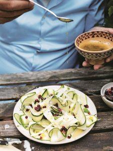 Gennaro Fast Cook Italian: Carpaccio of Zucchini
