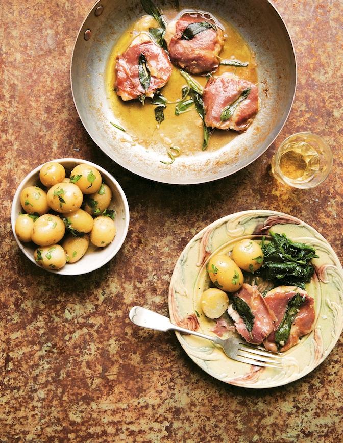 Gennaro Fast Cook Italian: Chicken Saltimbocca