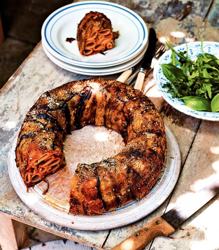 Pasta Perfecto: Timballo Di Candele Con Melanzane